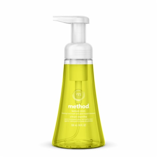 Method Lemon Mint Foaming Hand Wash Perspective: front