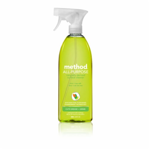 Method Lime & Sea Salt All Purpose Surface Cleaner Perspective: front