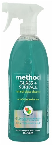 Method Glass plus Surface Cleaner Waterfall Perspective: front