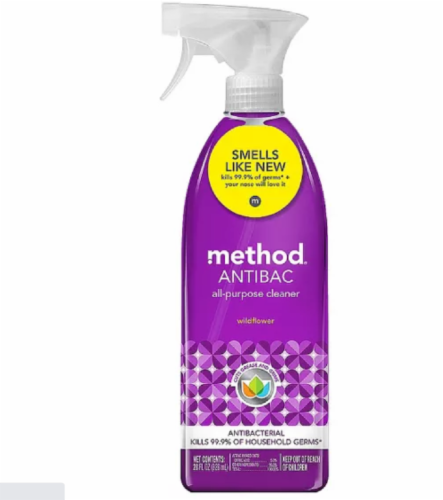 Method Antibac All-Purpose Cleaner - Wildflower Perspective: front
