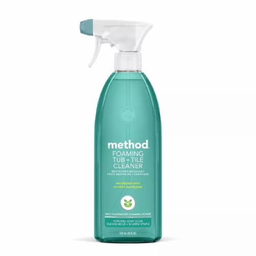 Method Foaming Bathroom Cleaner Eucalyptus Mint Perspective: front