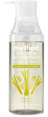 Method Kitchen Lemongrass Citronnelle Gel Hand Wash Perspective: front