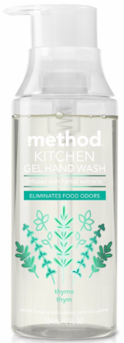 Method Kitchen Thyme Gel Hand Wash Perspective: front
