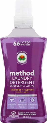Method 4X Concentrated Lavender + Cypress Laundry Detergent Perspective: front