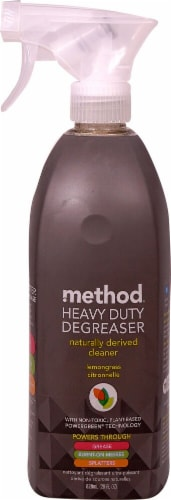 Method Heavy Duty Degreaser Oven Cleaner & Stove Top Cleanser Lemongrass Citronnelle Perspective: front