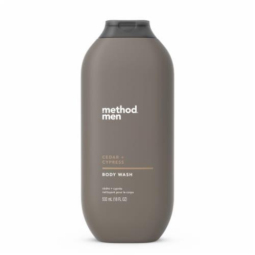 Method Men Cedar & Cypress Body Wash Perspective: front