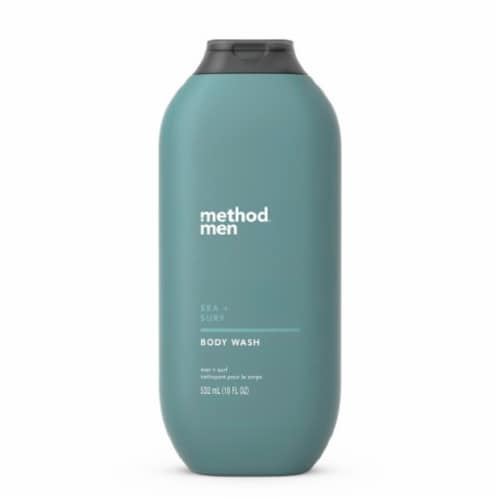Method Men Sea + Surf Body Wash Perspective: front