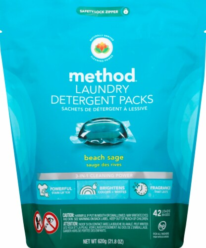 Method Laundry Detergent Packs Perspective: front