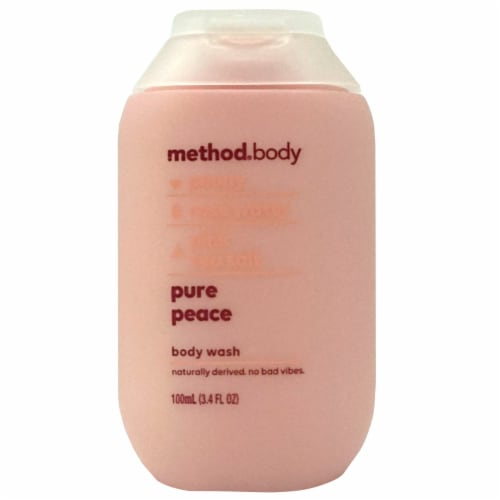 Method Pure Peace Body Wash Perspective: front