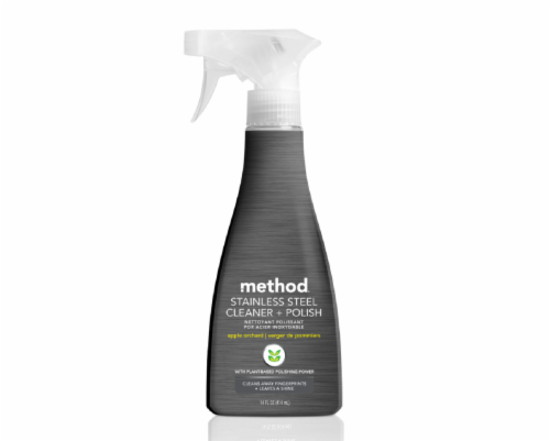 Method Stainless Steel Cleaner and Polish Perspective: front