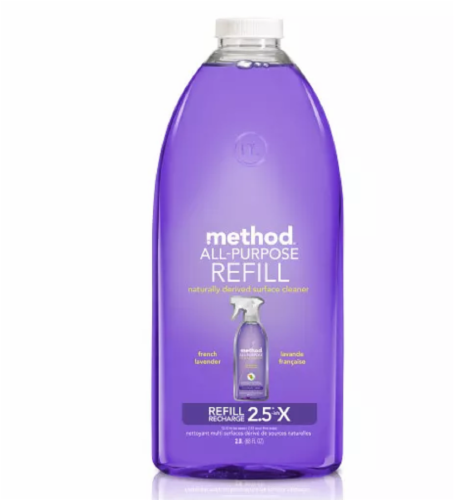 Method French Lavender All-Purpose Cleaner Refill Perspective: front