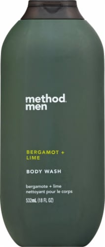 Method Bergamot & Lime Body Wash Perspective: front
