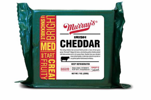 Murray's® Irish Cheddar Perspective: front
