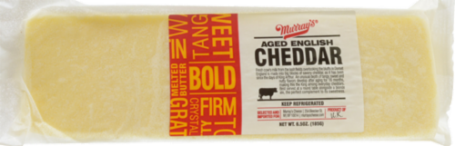 Murray's® Aged English Cheddar Perspective: front