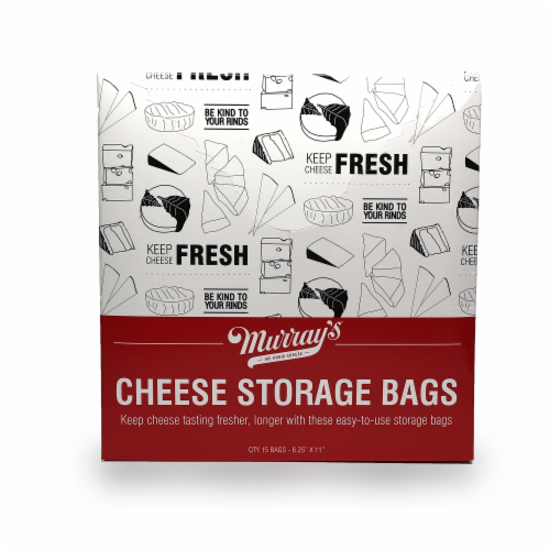 Murray's® Cheese Storage Bags Perspective: front