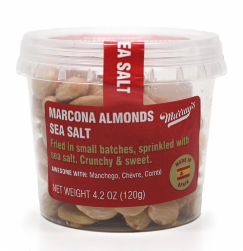Murray's® Marcona Fried Almonds with Sea Salt Perspective: front
