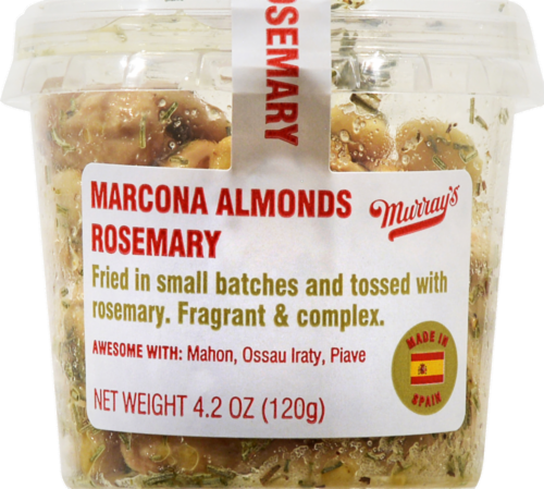 Murray's® Marcona Fried Almonds with Rosemary Perspective: front