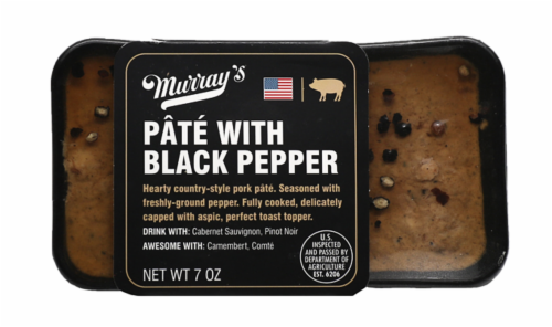 Murray's® Pate with Black Pepper Perspective: front