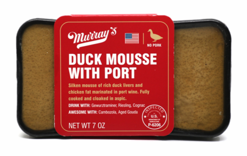Murray's® Duck Mousse with Port Perspective: front