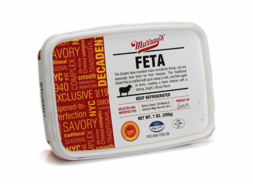 Murray's® Greek Feta Cheese Perspective: front