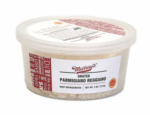 Murray's® Grated Parmigiano Reggiano Perspective: front