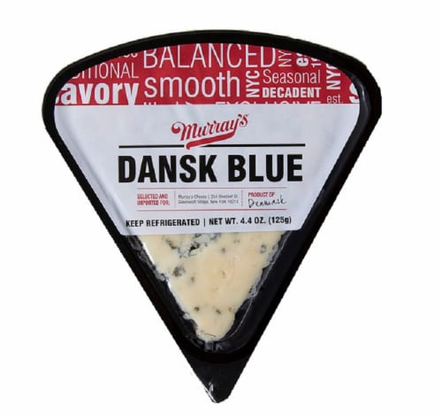 Murray's® Dansk Blue Cheese Wedge Perspective: front