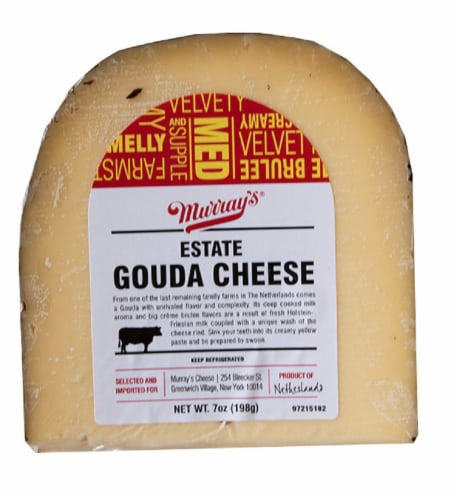 Murray's® Estate Gouda Cheese Perspective: front