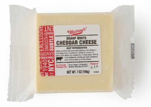 Murray's Sharp White Cheddar Cheese Perspective: front