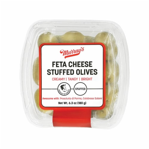 Murray's Feta Cheese Stuffed Olives Perspective: front