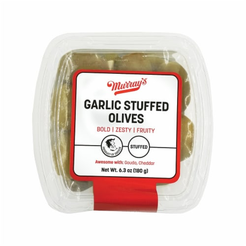 Murray's Garlic Stuffed Olives Perspective: front