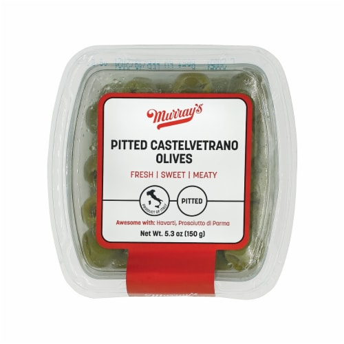 Murray's Pitted Castelvetrano Olives Perspective: front