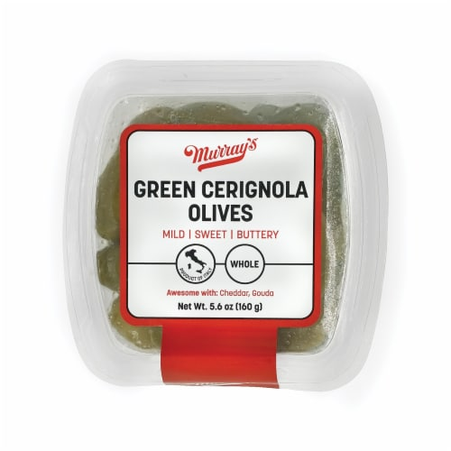 Murray's Green Cerignola Olives Perspective: front