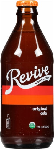 Revive Kombucha Boogie Down Craft Cola Redux Perspective: front