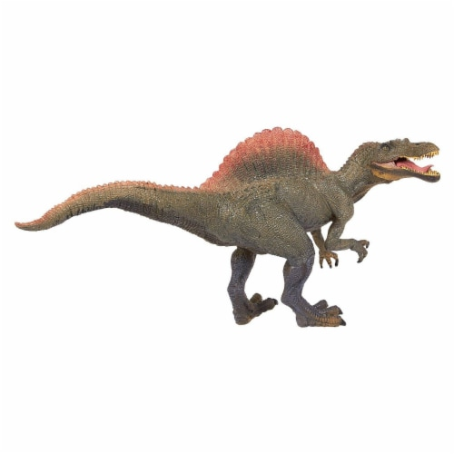 Realistic Plastic Toy Dinosaur Figure with Movable Jaw for Children Decoration Perspective: front