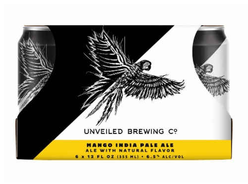Unveiled Brewing Co. Mango IPA Perspective: front