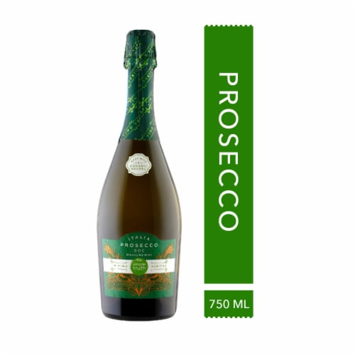 Simple Truth™ Italia Prosecco Sparkling Wine Bottle Perspective: front
