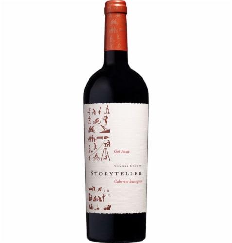 Storyteller Wine Got Away Cabernet Sauvignon Perspective: front