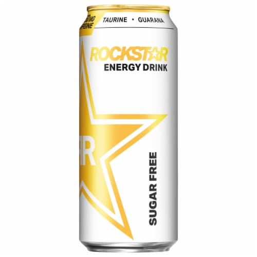 Rockstar Sugar Free Energy Drink Perspective: front