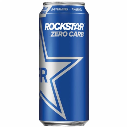 Rockstar® Zero Carb Energy Drink Perspective: front