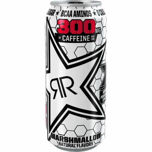 Rockstar XDurance Marshmallow Energy Drink Perspective: front