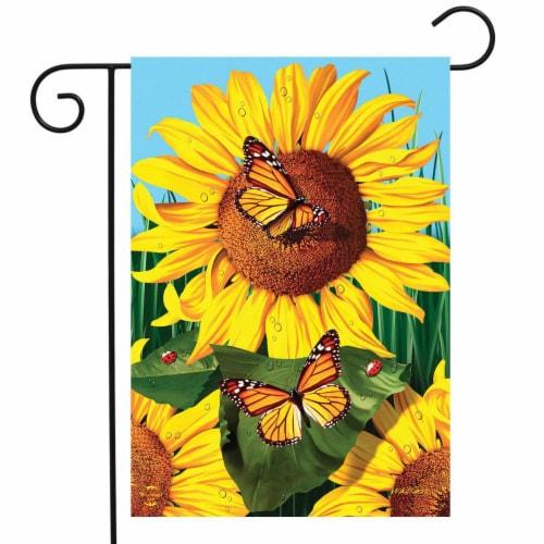 Briarwood Lane BLG00598 Sunflower Field Garden Flag Perspective: front