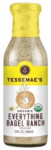 Tessemae's Organic Everything Bagel Ranch Perspective: front