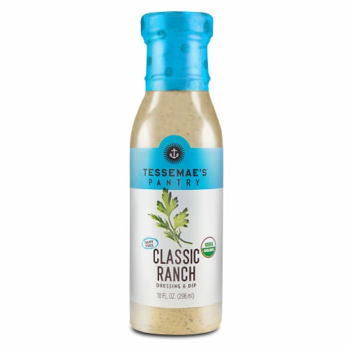 Tessemae's Classic Ranch Dressing & Marinade Perspective: front