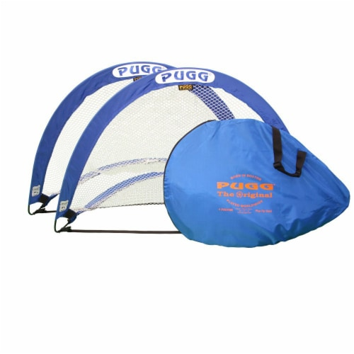 Pugg Portable Training Soccer Goal Set Perspective: front