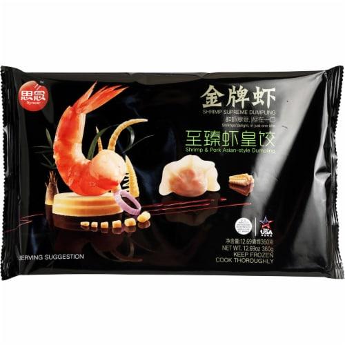 Synear Shrimp Supreme Dumpling Perspective: front