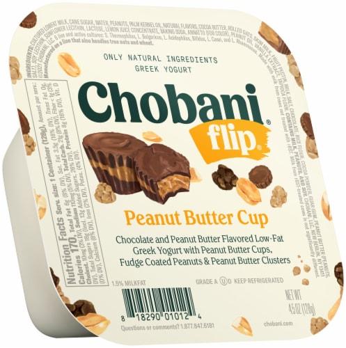 Chobani Flip Peanut Butter Cup Low-Fat Greek Yogurt Perspective: front