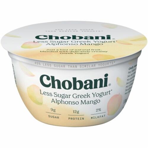 Chobani Hint of Alphonso Mango