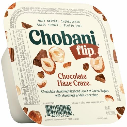 Chobani Flip Chocolate Haze Craze Low-Fat Greek Yogurt Perspective: front
