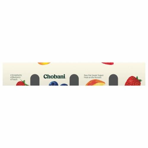 Chobani Fruit on the Bottom Non-Fat Greek Yogurt Variety Pack Perspective: front