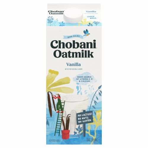 Chobani Vanilla Oat Drink Perspective: front